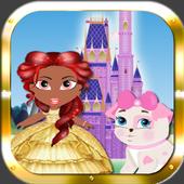 Princess Girl Fashion Castle icon