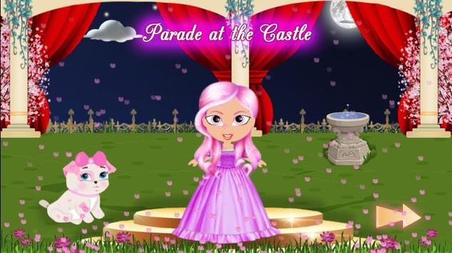 Princess Girl Fashion Castle screenshot 5