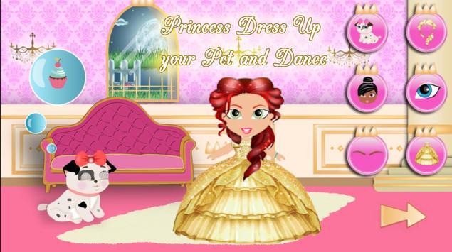 Princess Girl Fashion Castle screenshot 7