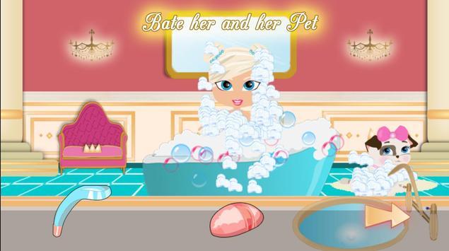 Princess Girl Fashion Castle screenshot 1