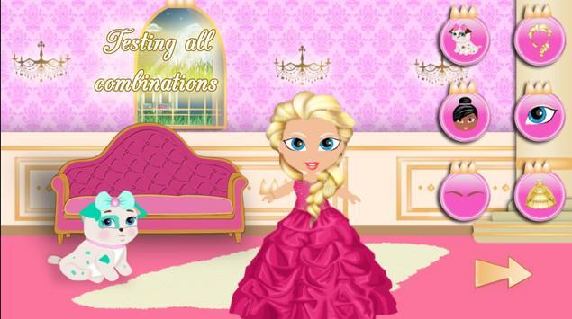 Princess Girl Fashion Castle screenshot 20