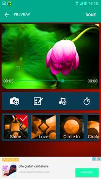 مونتاج فيديو بالصور والموسيقى apk screenshot