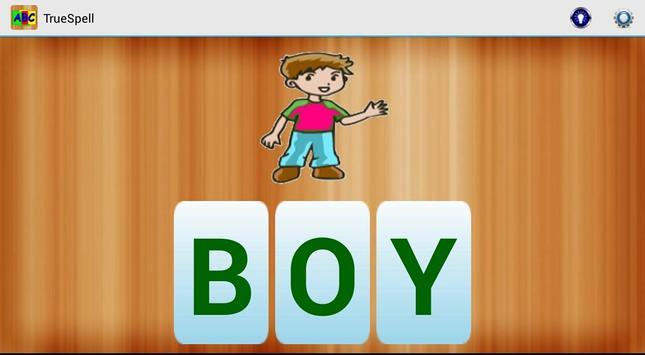 ABC TrueSpell for Kids poster