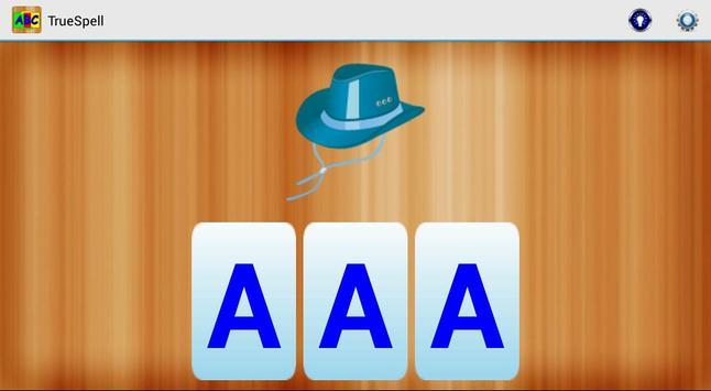 ABC TrueSpell for Kids apk screenshot