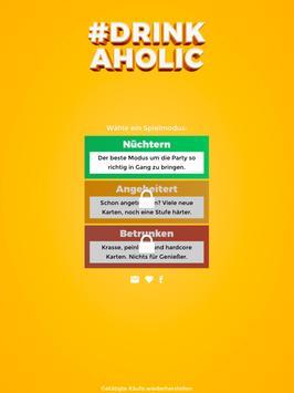 Drinkaholic Drinking Game apk screenshot