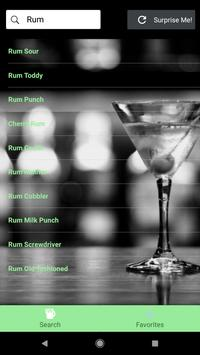 Drink App screenshot 1