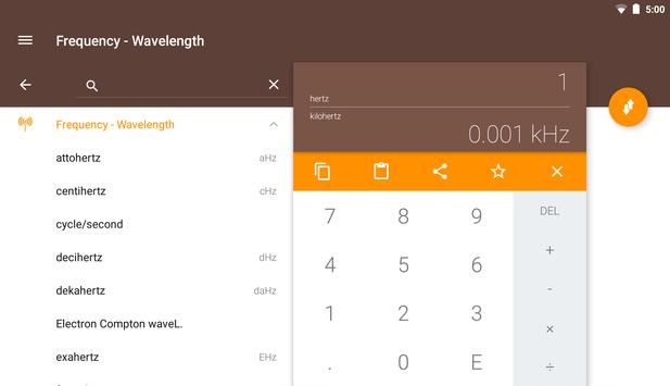 Frequency Converter ConvertIt! apk screenshot
