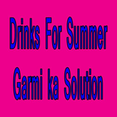 Drinks For Summer icon