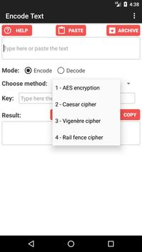 Encode Text and Messages apk screenshot