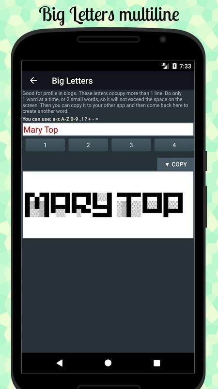 Cool Text Symbols Letters Emojis Nicknames Apk Download Free