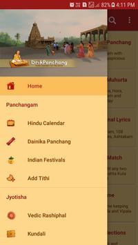 Hindu Calendar poster