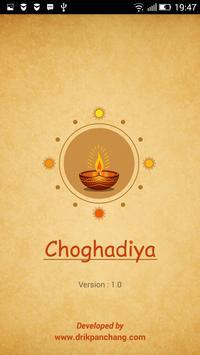 Choghadiya poster