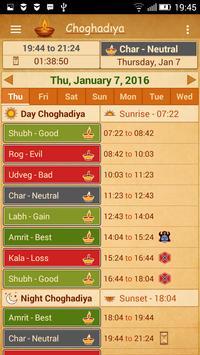 Choghadiya screenshot 2