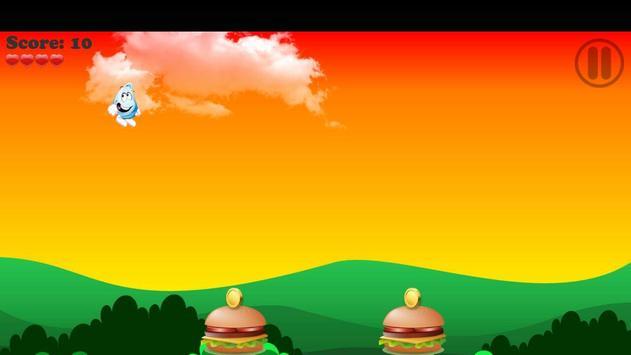 Flappy Droplet Water vs Fire plateformer games screenshot 1