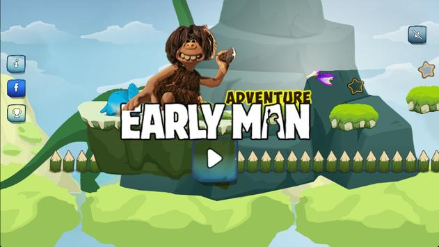 Adventure of Early Man poster