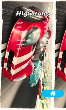 Speed car racing poster