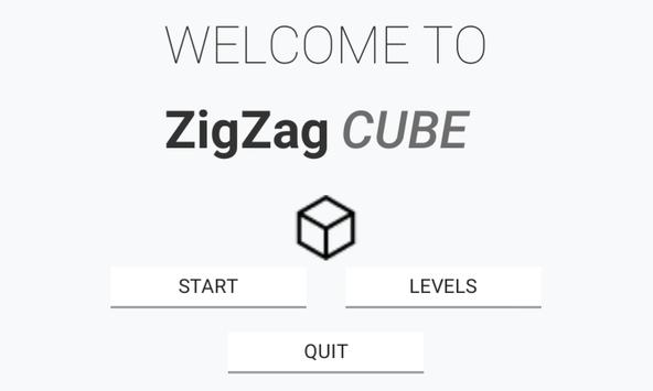 ZigZag Cube poster