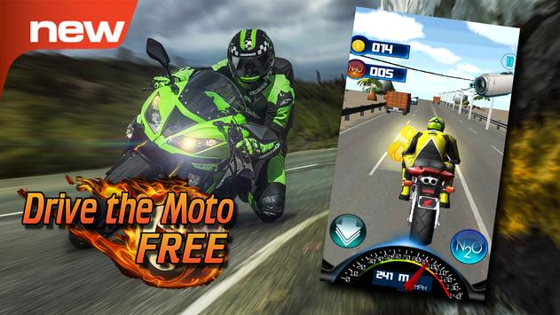 Drive the Moto FREE Top Rider poster