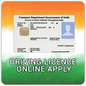 Driving Licence Online Apply icon