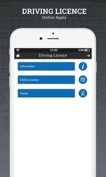 Driving Licence Online Apply apk screenshot