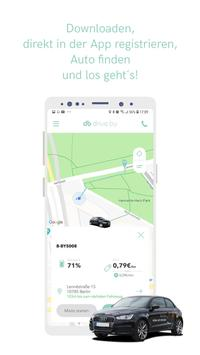 drive by - Berlin Carsharing poster