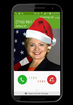 Call From A Happy Santa Claus poster