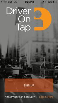 DriverOnTap (Unreleased) apk screenshot
