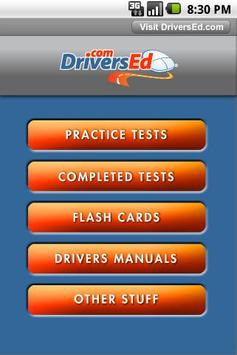 drivers ed kentucky poster