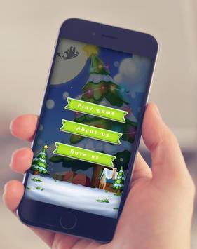 Santa claus Bubble shooter poster