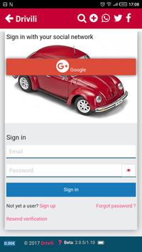 Drivili carpooling screenshot 3