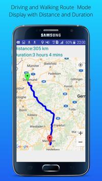 GPS Driving Route screenshot 1