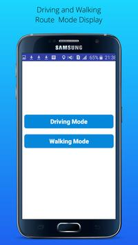 GPS Driving Route apk screenshot