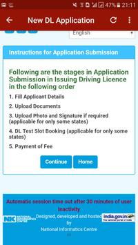 Driving Licence Online Status-India screenshot 3