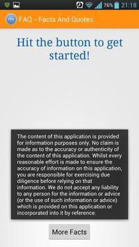 FAQ - Facts And Quotes apk screenshot
