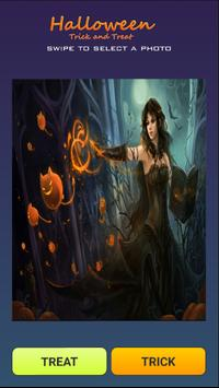 Halloween Trick and Treat poster
