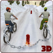 Crazy Chained Bicycle Racing Stunts: Free Games 3D icon