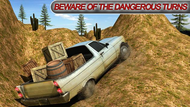 Hilux Pickup Offroad Driving Zone poster
