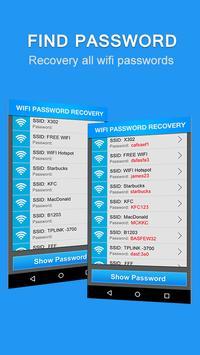 Wi-Fi Password Recovery скриншот 2