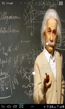 Einstein HD Live WallPaper poster