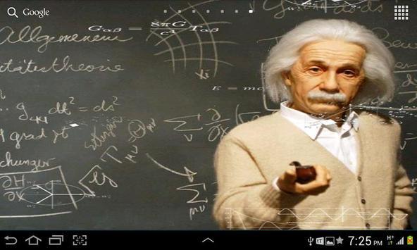 Einstein HD Live WallPaper screenshot 1