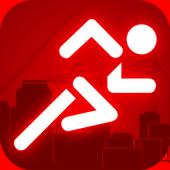 Mr.Stick Jump:Runner Machine icon