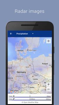 Transparent clock & weather apk screenshot
