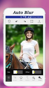 Auto Blur Photo Background apk screenshot