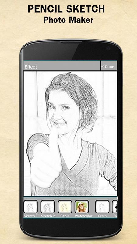 Sketch photo maker apk screenshot