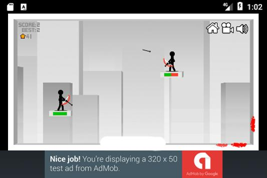 Stickman Bow Shoot screenshot 2