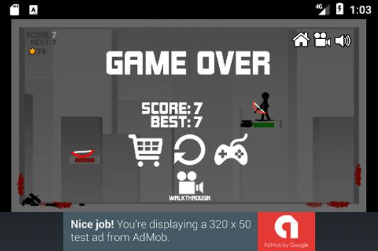 Stickman Bow Shoot screenshot 3