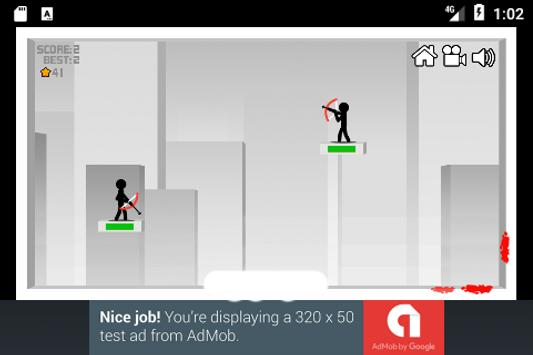 Stickman Bow Shoot screenshot 4