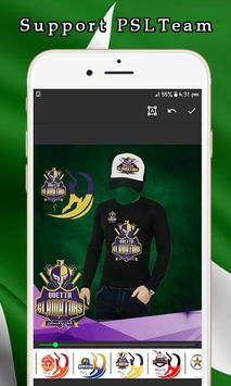 PSL T20 Suit Editor - PSL Shirts & PSL Caps 2019 screenshot 1