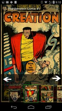 Frankenstein Comic Book #1 apk screenshot