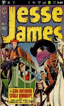 Jesse James Comic Book #1 poster